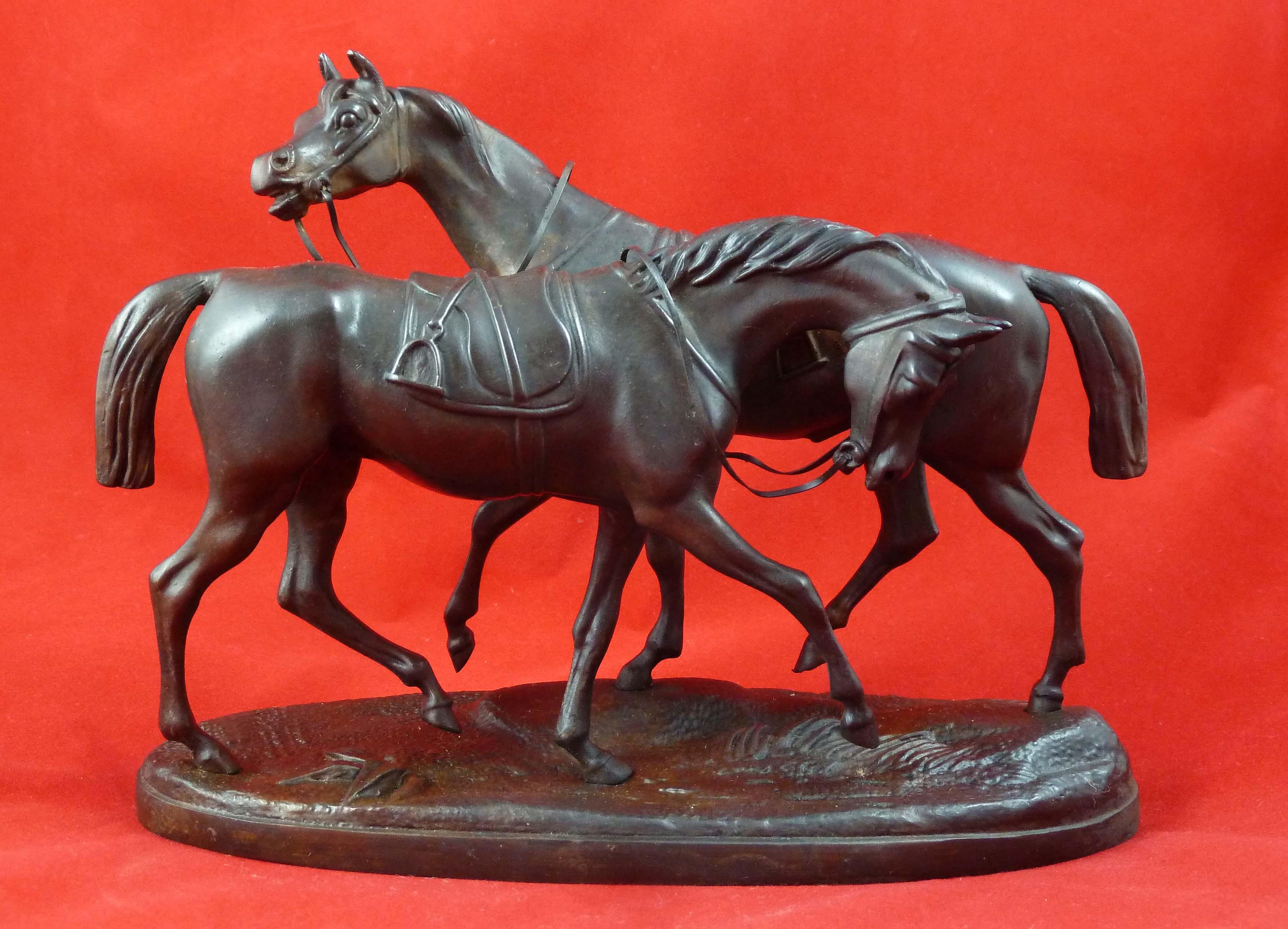 Pair Horses