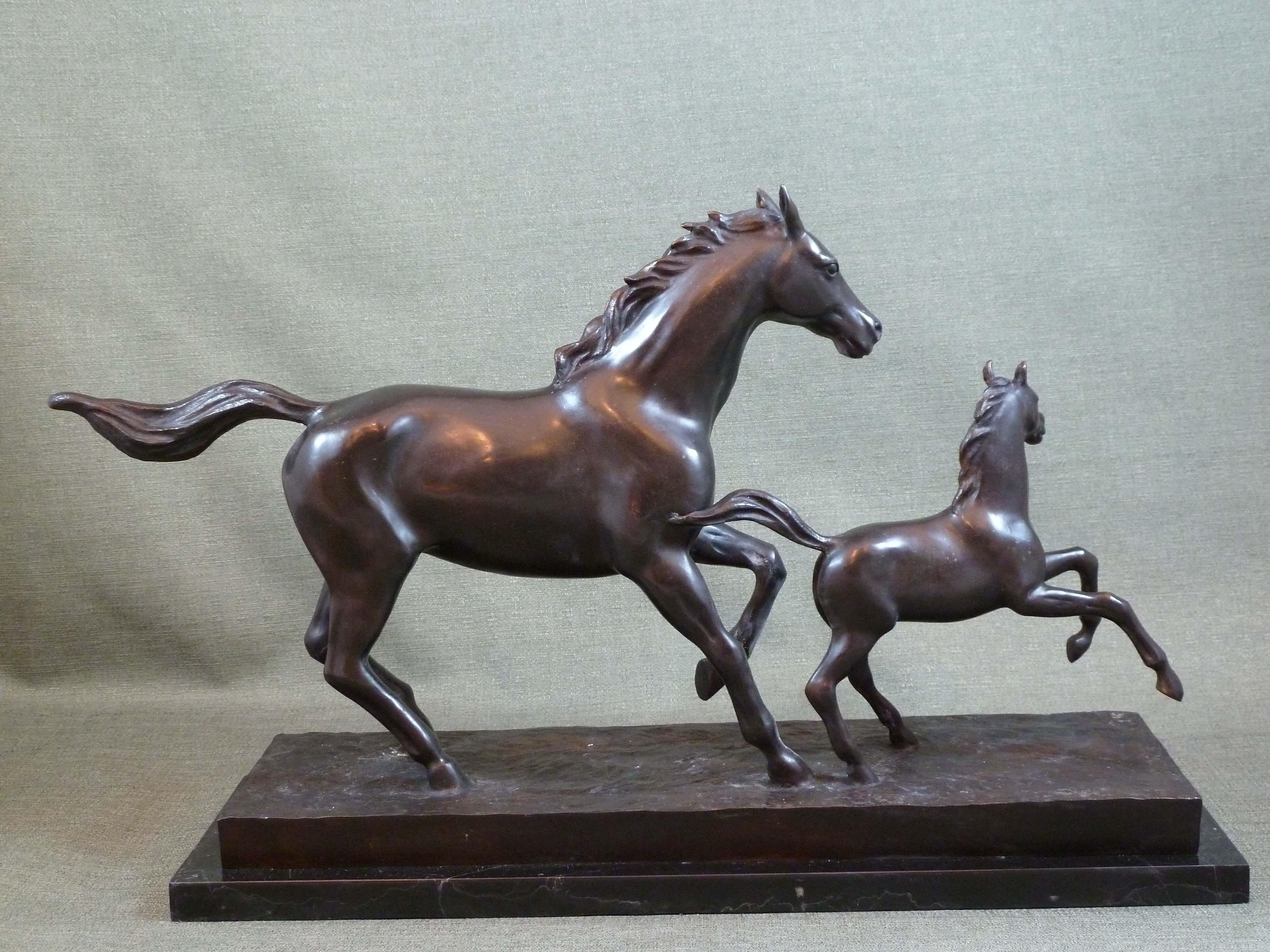 FC1116 Mare & Foal L