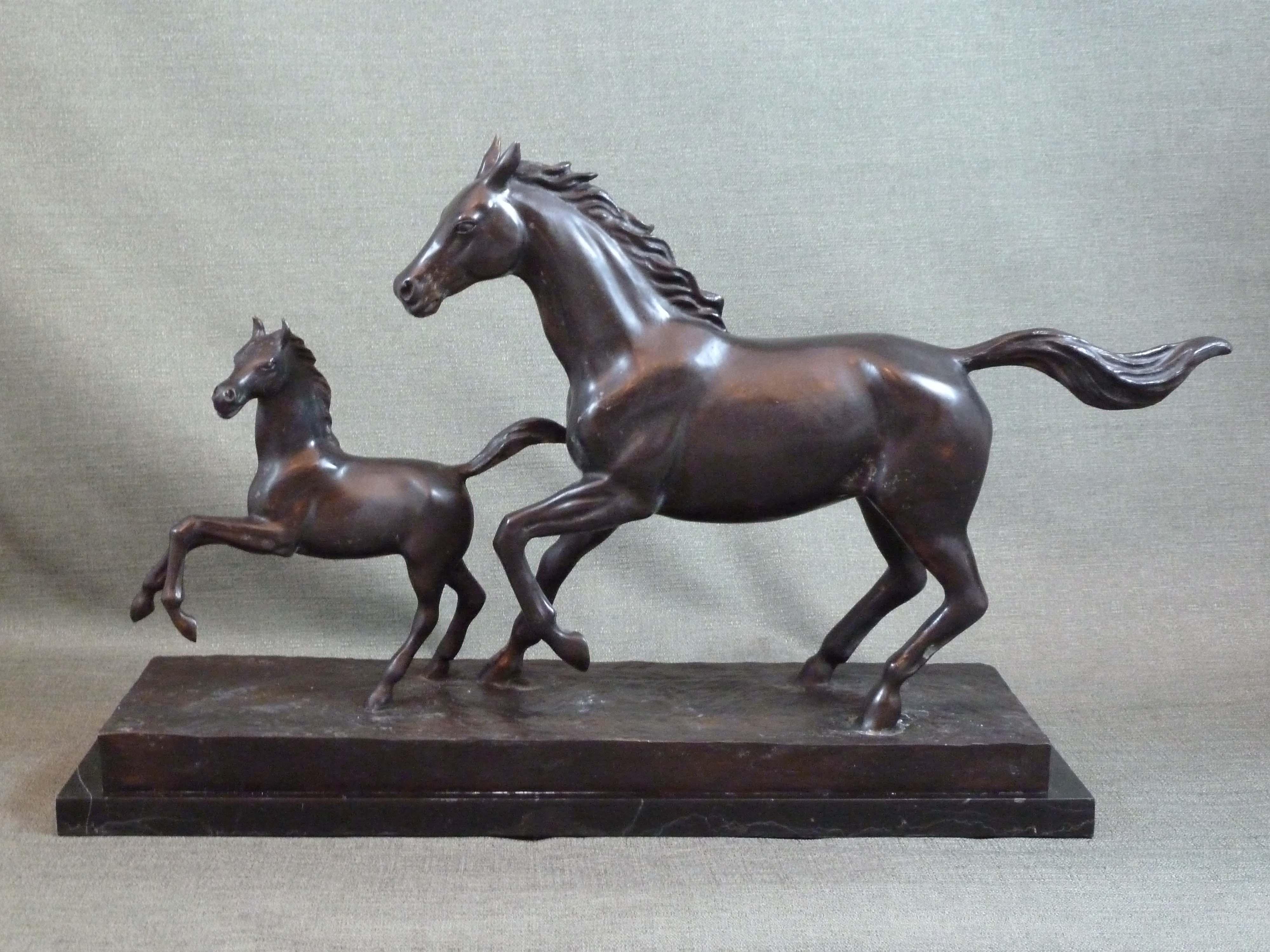 FC1116 Mare & Foal R