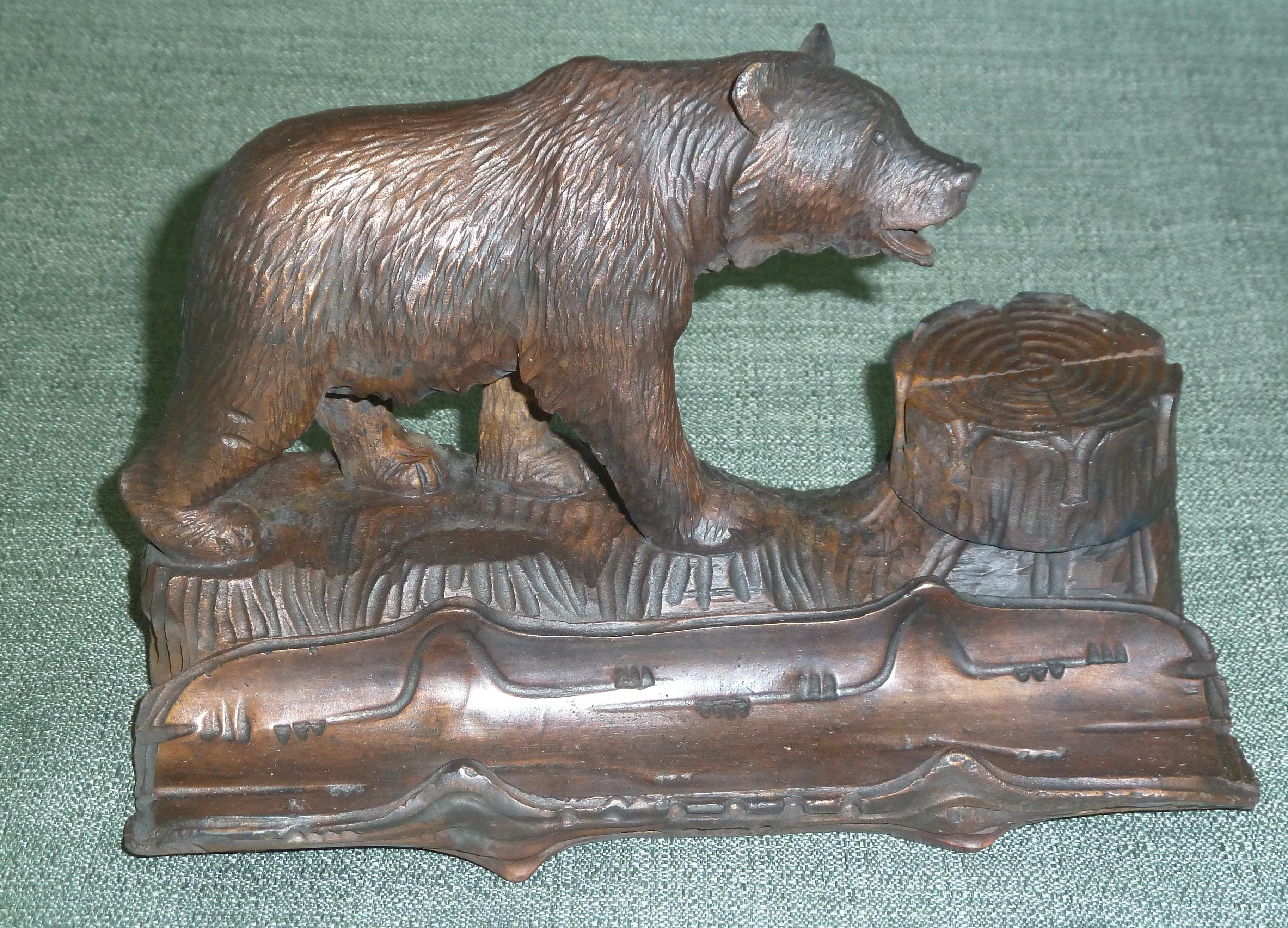 FC1203 Bear Inkwell